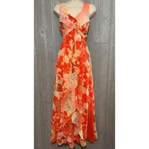 Vince Camuto Floral Maxi Dress 2 NWT $178